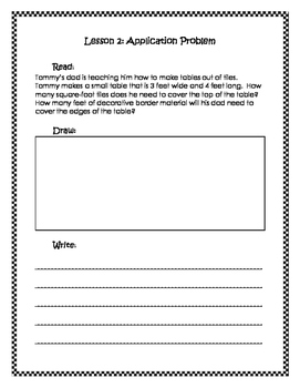 Engage New York / Eureka Application Problems Fourth Grade Module 3