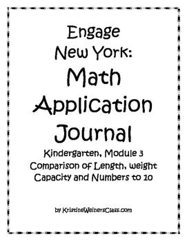 Engage New York / Eureka Application Problems Kindergarten Module 3