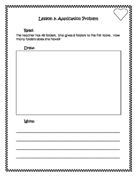 Engage New York / Eureka Application Problems Second Grade Module 1