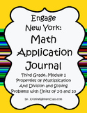 Engage New York / Eureka Application Problems Third Grade Module 1