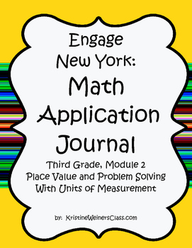 Engage New York / Eureka Application Problems Third Grade Module 2