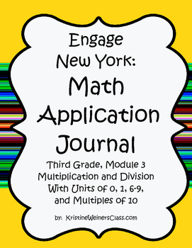 Engage New York / Eureka Application Problems Third Grade Module 3