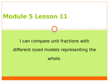 Engage New York / Eureka Grade 3 Module 5 Lesson 11 PowerPoint