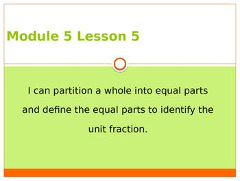Engage New York / Eureka Grade 3 Module 5 Lesson 6 PowerPoint