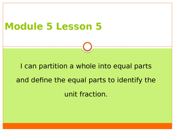 Engage New York / Eureka Grade 3 Module 5 Lesson 6 PowerPoint
