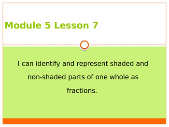 Engage New York / Eureka Grade 3 Module 5 Lesson 7 PowerPoint