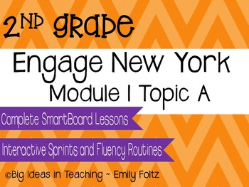 Engage New York Eureka Math 2nd Grade Module 1 Topic A Smartboard Lessons