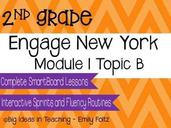 Engage New York Eureka Math 2nd Grade Module 1 Topic B Smartboard Lessons