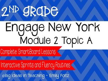 Engage New York Eureka Math 2nd Grade Module 2 Topic A Smartboard Lessons