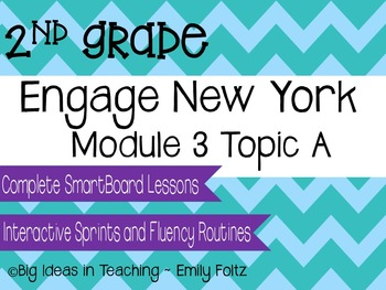 Engage New York Eureka Math 2nd Grade Module 3 Topic A Smartboard Lesson