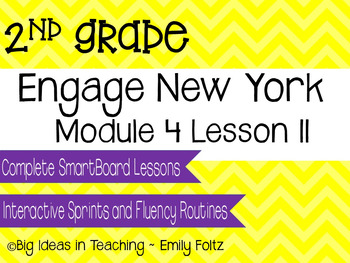 Engage New York Eureka Math 2nd Grade Module 4 Lesson 11 Smartboard Lesson