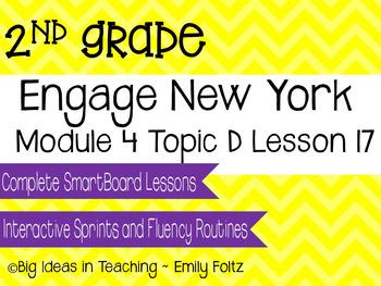 Engage New York Eureka Math 2nd Grade Module 4 Lesson 11 Smartboard Lesson