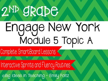 Engage New York Eureka Math 2nd Grade Module 5 Topic A Smartboard Lessons