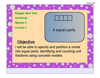 Engage New York (Eureka Math) 3rd Grade Module 5, Lesson 1