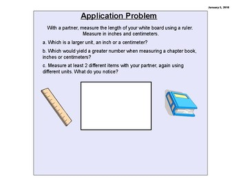 Engage New York (Eureka Math) 3rd Grade, Module 5 (SMART NOTEBOOK SOFTWARE)