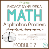 Engage New York/Eureka Math Application Problem Workbook 4th Grade Module 7