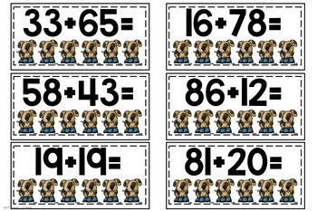 ~Eureka Math Centers~2nd Grade (Module 4)