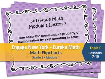 Engage New York Eureka Math Flipchart 3rd Grade Module 1 Topic C Lesson 7,8,9,10