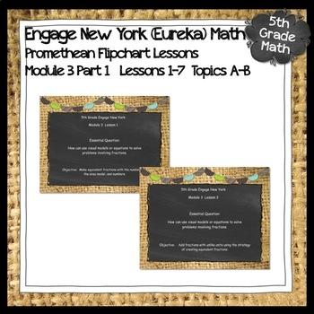 Engage New York (Eureka) Math Grade 5-Module 3 Lesson 1 ActivInspire Flipchart