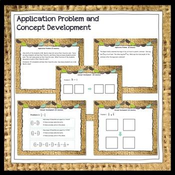 Engage New York (Eureka) Math Grade 5-Module 3 Topics A-D Promethean Flipchart