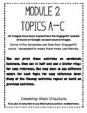 Engage New York / Eureka Math - K - Fluency Activity Cards - Module 2 All