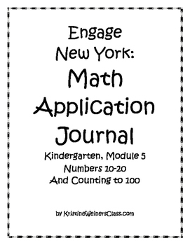 Engage New York / Eureka Application Problems Kindergarten Module 5