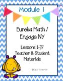 Engage New York / Eureka Math Mod 1 Teacher and Student Ma