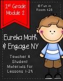 Engage New York / Eureka Math Mod 2 Teacher & Student Materials {1st Grade}