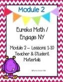Engage New York / Eureka Math Mod 2 Teacher and Student Materials {Kindergarten}