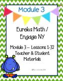 Engage New York / Eureka Math Mod 3 Teacher and Student Materials {Kindergarten}