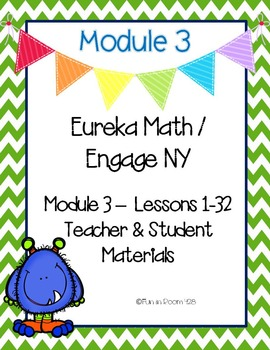 Engage New York / Eureka Math Mod 3 Teacher and Student Materials {Kindergarten}