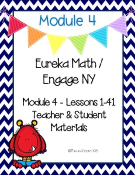 Engage New York / Eureka Math Mod 4 Teacher and Student Materials {Kindergarten}
