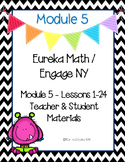 Engage New York / Eureka Math Mod 5 Teacher and Student Ma