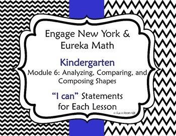 "Engage New York / Eureka Math Mod 6 ""I can"" Statements"