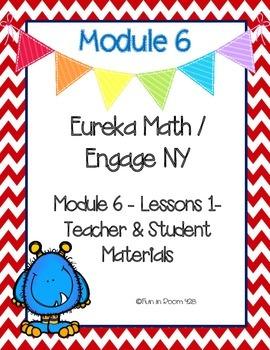Engage New York / Eureka Math Mod 6 Teacher and Student Materials {Kindergarten}