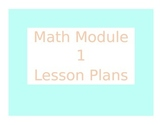 2013 Engage New York / Eureka Math Module 1 Kindergarten Lesson Plans