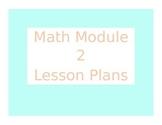 Engage New York / Eureka Math Module 2 Kindergarten Lesson Plans