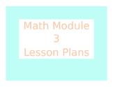 2013 Engage New York / Eureka Math Module 3 Kindergarten Lesson Plans