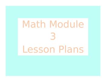 Engage New York / Eureka Math Module 3 Kindergarten Lesson Plans