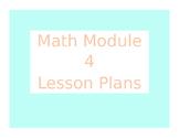 2013 Engage New York / Eureka Math Module 4 Kindergarten Lesson Plans