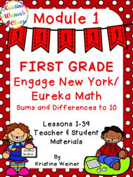 Engage New York / Eureka Teacher and Student Materials First Grade Module 1