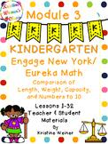 Engage New York / Eureka Teacher and Student Materials Kindergarten Module 3