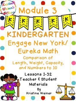 Engage New York / Eureka Teacher and Student Materials Kindergarten Module 3
