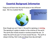Engage NY First Grade ELA Literacy Domain 6 Astronomy Lesson 2