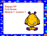 Engage NY First Grade Module 1 Lesson 1 Eureka Math