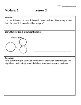 Engage New York First Grade Module 5 Application Problems