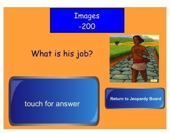 Engage NY Grade 1 ELA Domain 5 Early American Civilizations Jeopardy Review