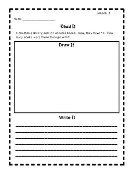 Engage New York Grade 2 Math Module 5 Application Problems