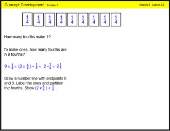 Engage New York Math Grade 4 Module 5 Lesson 23 Smart Notebook File