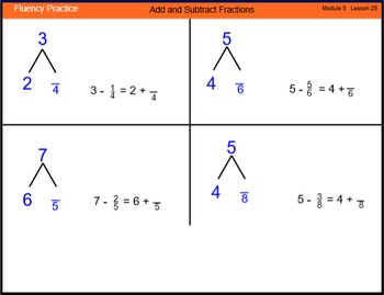 Engage New York Math Grade 4 Module 5 Lesson 25 Smart Notebook File